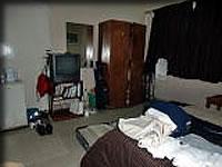 ホテルの部屋の様子