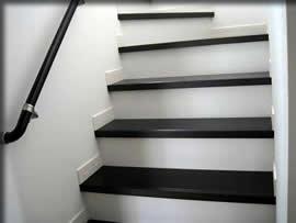 これはわが家の階段